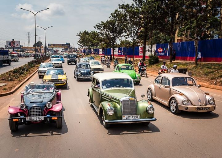 The Uganda Vintage Classic Car Show Is Underway Self Drive - Antique and classic car show