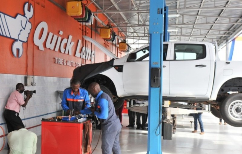 Ford Motors Quick Lane Tire Auto Center Launches In