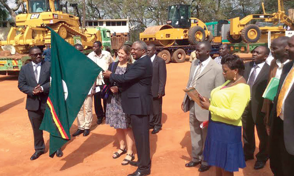 USAID donates $ 1 6 M Road Equipment to UWA – Self Drive
