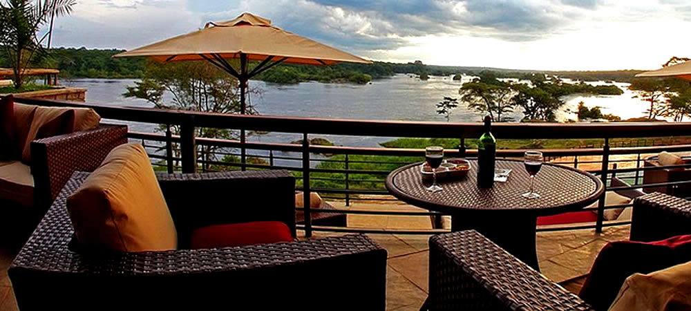 Chobe lodge view